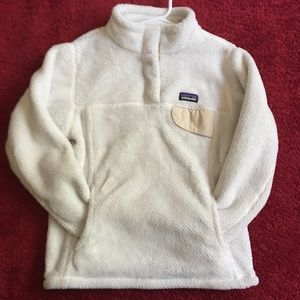 Patagonia off white sweater
